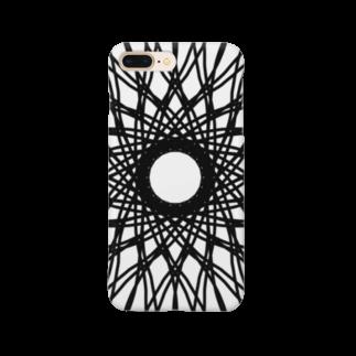 左の幾何学模様 series Smartphone cases