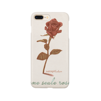 kitaooji shop SUZURI店のune seule rose Smartphone cases