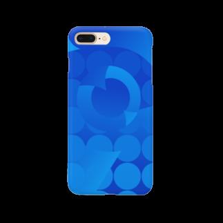 イエネコのOcean  Smartphone cases