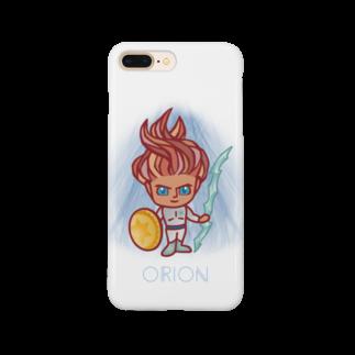 alpacca-creativeのOrion(オリオン星人) Smartphone cases
