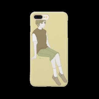 ずき(はる貴)のデニムのタイト Smartphone cases