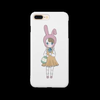 り  ヲのイースターちゃん Smartphone cases