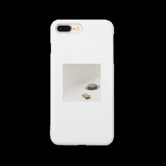 るなの貝殻だと思ったらやどかり Smartphone cases