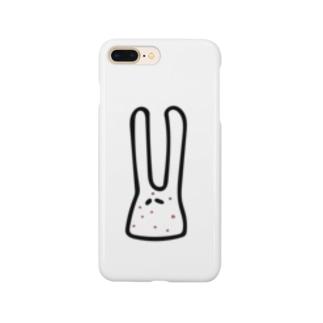 ニキビウサギ Smartphone cases