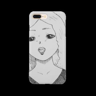★ 藤崎幾何 ★ illustrationの×××× 女の子 Smartphone cases
