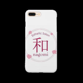 エステティックサロン 和 〜nagomi〜のエステティックサロン和〜nagomi〜 オリジナルグッズ Smartphone cases