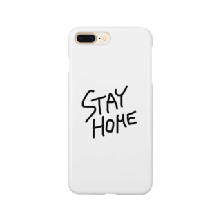 c_girlのSTAY HOME Smartphone cases