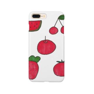 まっかな果物 Smartphone cases