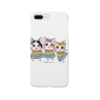 🐈aco🐕のアマビエキャッツ Smartphone cases
