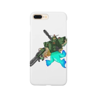 K′z SHOPのフルアーマーアマビエ Smartphone cases