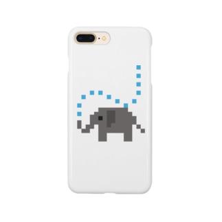 かくかくゾウ Smartphone cases