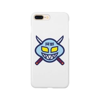 パ紋No.3358 阿部  Smartphone cases