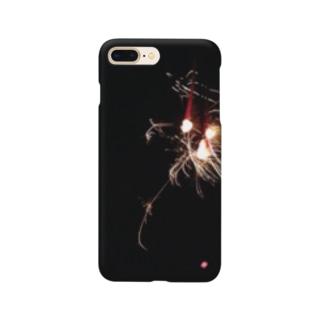 tama___1015の夏の思い出 Smartphone cases