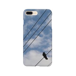 空と烏 Smartphone cases