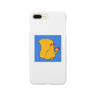 あきらんどのリス Smartphone cases