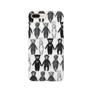 Plum'sマスコット5大集合 Smartphone cases