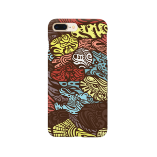 gimachiの柄2 Smartphone cases