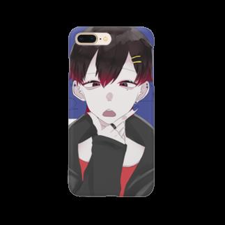黒宮の黒宮の命を守る盾ver.3 Smartphone cases