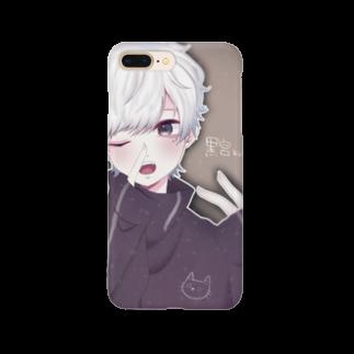 黒宮の黒宮の命を守る盾ver.1 Smartphone cases