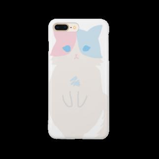 おもち屋さんのおすまし猫(1) Smartphone cases