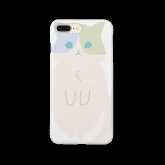 おもち屋さんのおすまし猫(5) Smartphone cases
