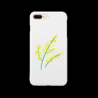 ⭐の黄色いはな Smartphone cases