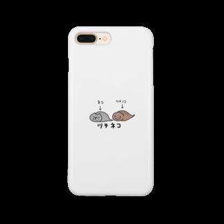由伊つれづれアートのツチネコ Smartphone cases