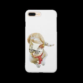 Rock catのメガネCAT Smartphone cases