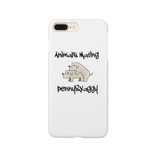 Dogs  Mating(犬の交尾) Smartphone cases