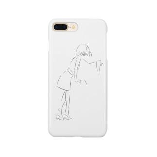 ユウヒのGirl Smartphone cases