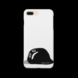 おはまじろうのお店の謎の真っ黒モンスター Smartphone cases