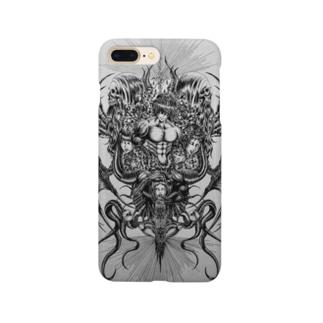 屍肉が蝕む聖者の真 Smartphone cases