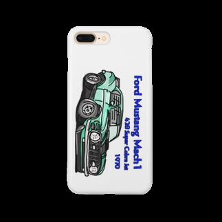 ばんやのマスタング Smartphone cases