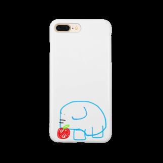 kamiri_の16歳児の描いたぞうさん Smartphone cases