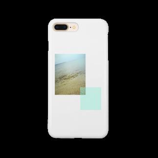 omohide_のnamiuchigiwa_green Smartphone cases