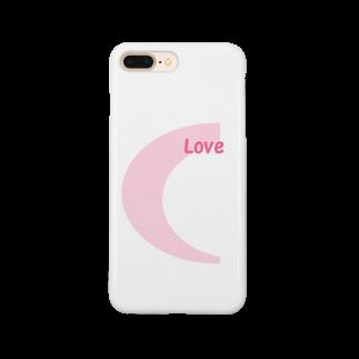 アメリカンベースのLove  デザイン Smartphone cases