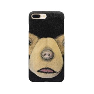 モモコ顔 Smartphone cases