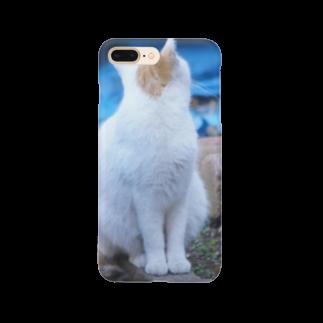 まきまきふぉとのネコネコネコ Smartphone cases