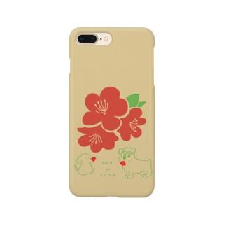 ととめめ本日のお花:4月22日 Smartphone cases