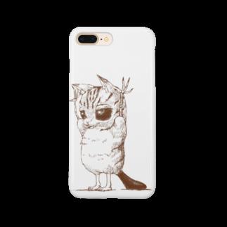 cheon.の威嚇バンザイネコ Smartphone cases