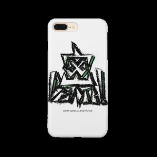 オオツボゲンキの店の密DEATH!(密です!) Smartphone cases
