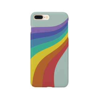 70s Groovy Rainbow Smartphone cases