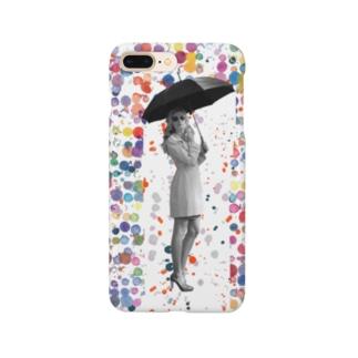 雨。止まずとも。 Smartphone cases