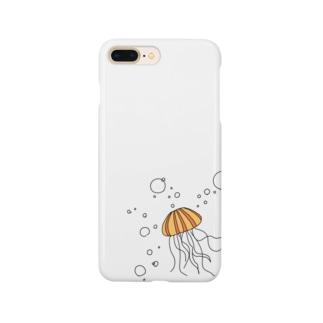 あかくらげくん Smartphone cases