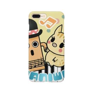 ハニワツイッタートプ画 Smartphone cases