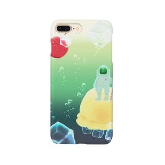 フロートアイランド Smartphone cases