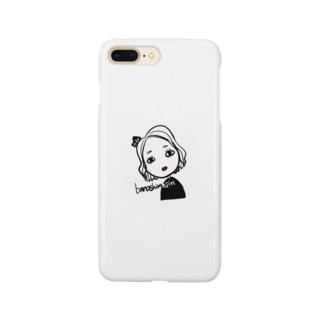 作者の顔 Smartphone cases