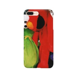 スーサイドエルモくん Smartphone cases