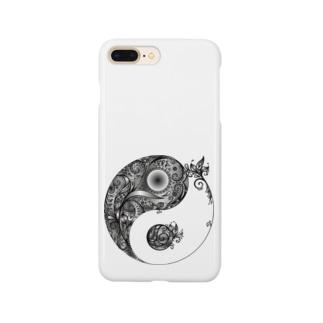 太陰太極図 Smartphone cases