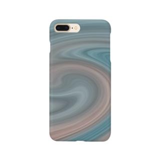 孵爛カラー Smartphone cases